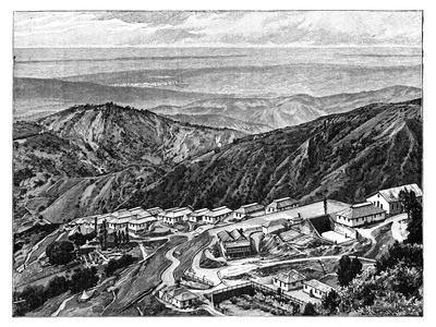 Newcastle Sanatorium, Jamaica, C1890