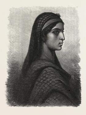 A Koptic Woman, Egypt, 1879
