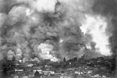 San Francisco in Flames