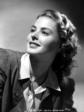 Ingrid Bergman wearing a Black Jacket by A.L. Schafer