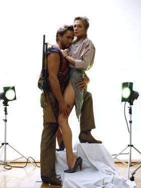 A la poursuite du diamant vert Romancing the stone by Robert Zemeckis with Michael Douglas and Kath
