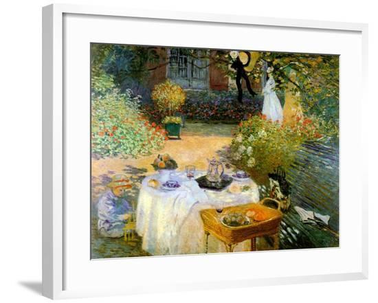 A Luncheon--Framed Giclee Print