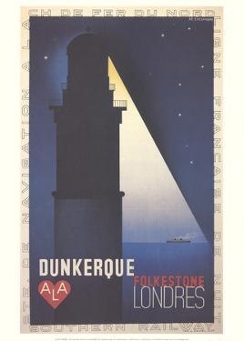 Dunkerque by A.M. Cassandre