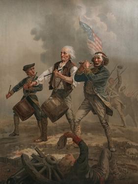 Yankee Doodle 1776 by A. M. Willard