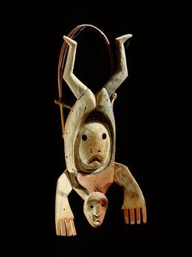 A Mask Which Probably Represents the Flight of a Shaman's Spirit