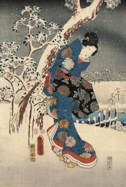 A Modern Version of the Tale of Genji in Snow Scenes