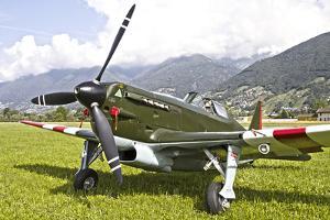 A Morane-Saulneir D-3801 of the Swiss Air Force