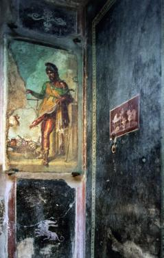 A Mural Showing the God Priapus