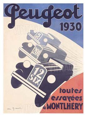 Peugeot by A. N. Girard