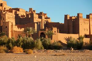 Ait Benhaddou is a Fortified City, or Ksar, along the Former Caravan Route between the Sahara and M by A_nella
