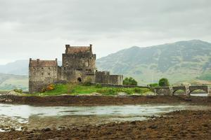 Eilean Donan Castle on a Cloudy Day, Scotland. UK by A_nella