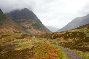 Pass of Glencoe - Overcast Day. Scotland's Highland. Spring by A_nella