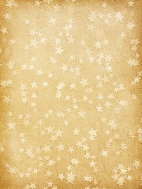 Vintage Paper Decorated with Stars by A_nella