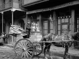 A New Orleans Milk Cart, New Orleans, La.