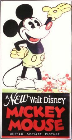A New Walt Disney Mickey Mouse