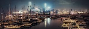 A Night Sense in Causeway Bay Typhoon Shelter