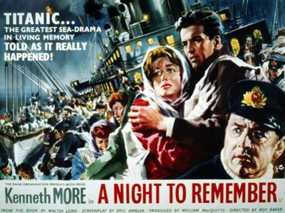 A Night To Remember, 1958