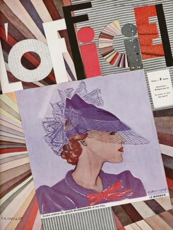 L'Officiel, January 1935 - Monte-Carlo/Maggy Rouff by A.P. Covollot