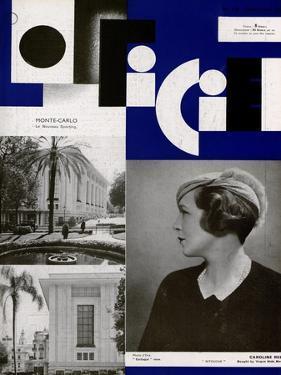 L'Officiel, November 1932 - Mle Roberte Cussey/46 H.P. Hispano Suiza/Carrossée Par Fernandez by A.P. Covollot