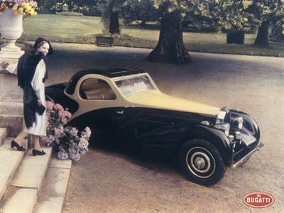 A Page from a 1935 Bugatti Brochure