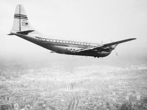 A Pan Am Clipper in Flight