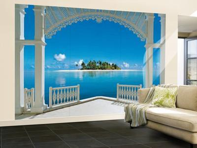 A Perfect Day Balcony Wall Mural