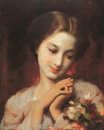 Fresh Roses by A. Piot