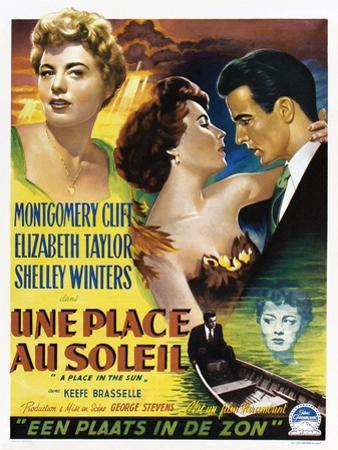 A Place in the Sun, (aka Une Place Au Soleil), 1951