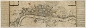A Plan of London as in Queen Elizabeth's Days