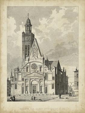 Eglise de St. Etienne-Du-Mont by A. Pugin
