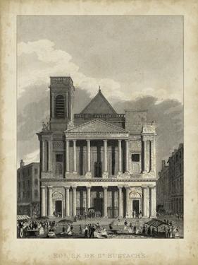 Eglise de St. Eustache by A. Pugin