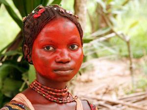 A Pygmy Woman is Seen at the Village of Mpha, Democratic Republic of Congo