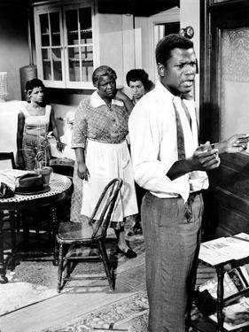 A Raisin In The Sun, Ruby Dee, Claudia McNeil, Diana Sands, Sidney Poitier, 1961