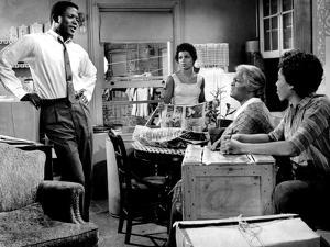 A Raisin In The Sun, Sidney Poitier, Ruby Dee, Claudia McNeil, Diana Sands, 1961