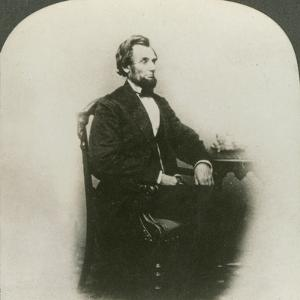 A Rare Old Three Dimensional Portrait of Abraham Lincoln (1809-65)