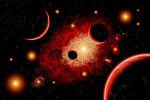 A Red Giant Star System