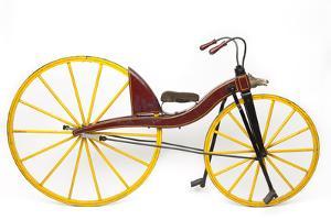 A Replica of the Kirkpatrick Mcmillan Bicycle