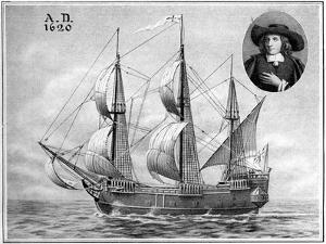 A Representation of the Mayflower, 1922