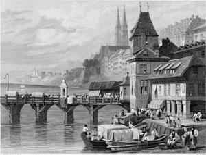 A River Scene at Basel