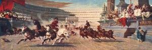 A Roman Chariot Race, the Circus Maximus, 20th Century