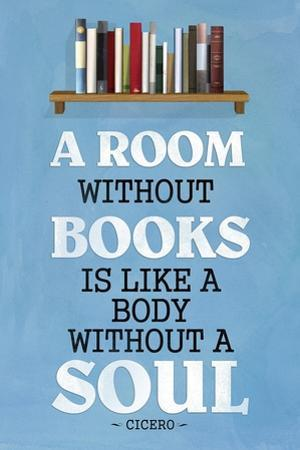 A Room Without Books Cicero Quote