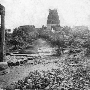 A Ruined Temple Near Madras, India, 1874