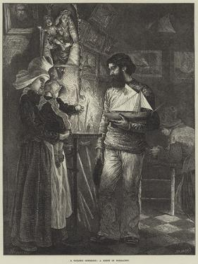 A Sailor's Offering, a Scene in Normandy