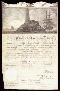 A Ship's Passport for 'Henry of Salem'