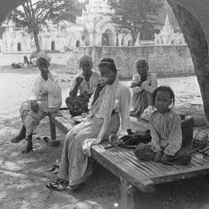 A Social Drink of Coffee, Mandalay, Burma, 1908