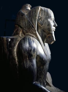 A Statue of King Chephren