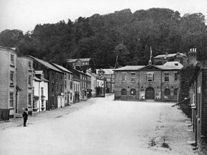 A Street in Montgomery, Wales, 1924-1926 by E Bastard