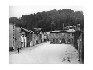 A Street in Montgomery, Wales, 1924-1926 by E Bastard