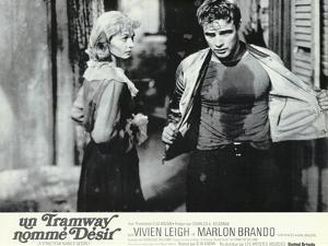 A Streetcar Named Desire, French Movie Poster, 1951