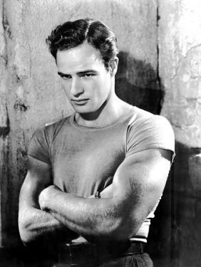 A Streetcar Named Desire, Marlon Brando, 1951, Arms Folded